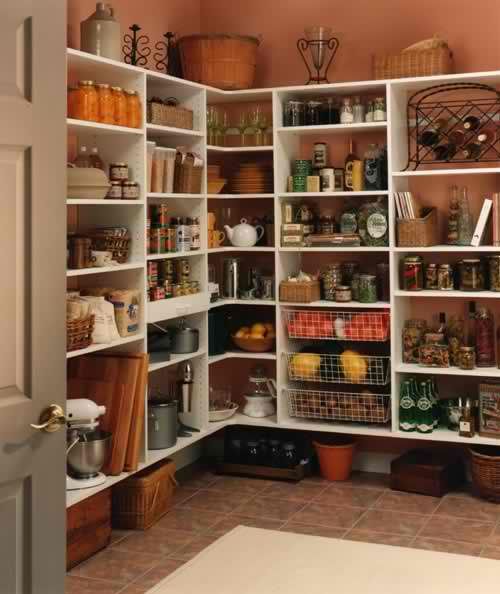 Let s pantry a dose of simple - Country kitchen larder cupboard ...