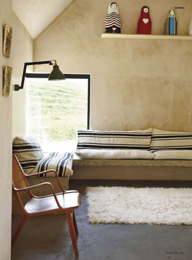 rustic daybed