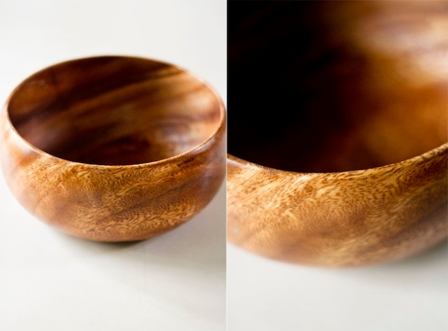 woodenbowl split