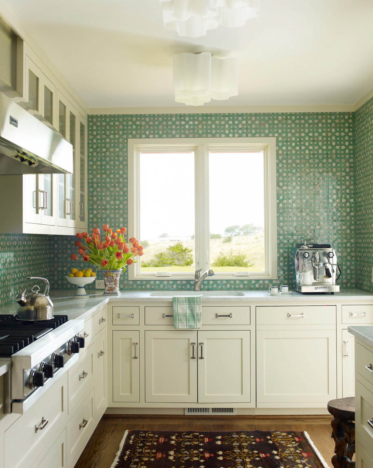 green tile backsplash kitchen a backsplash a dose of simple 17952