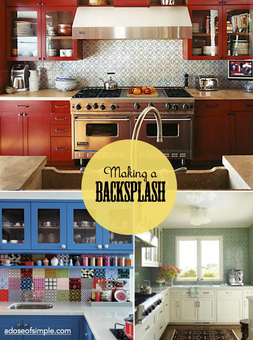 Pearl Kitchen Backsplash