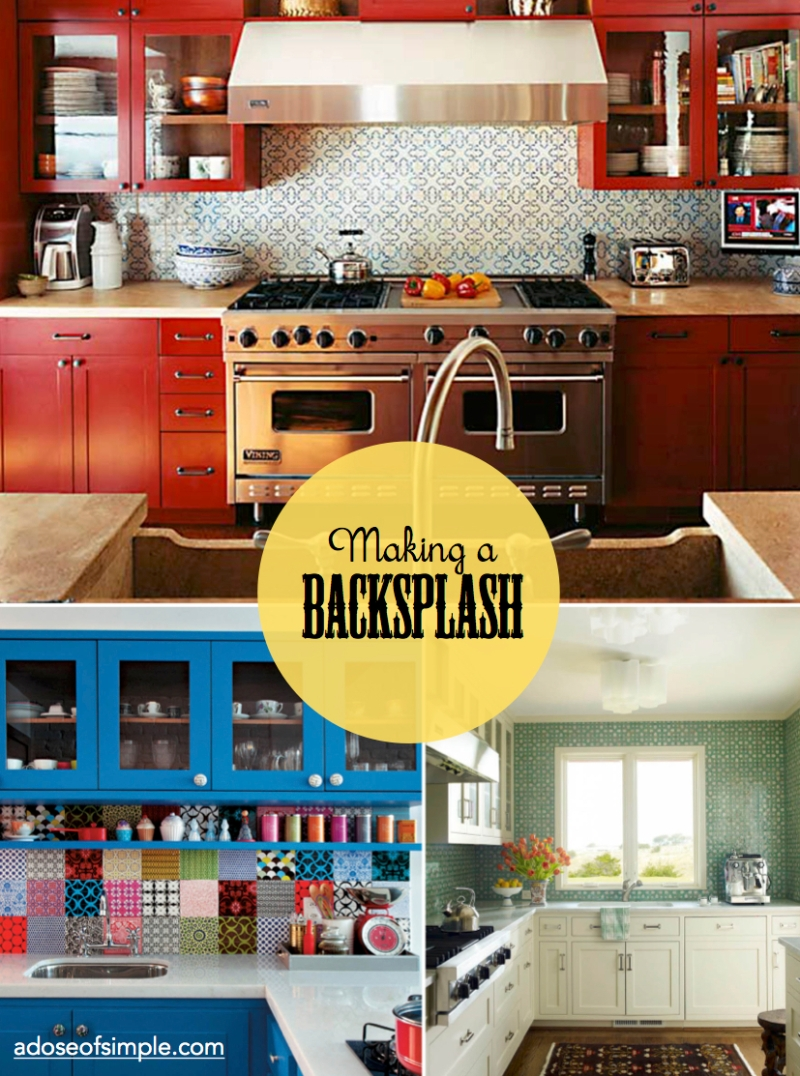backsplash a dose of simple