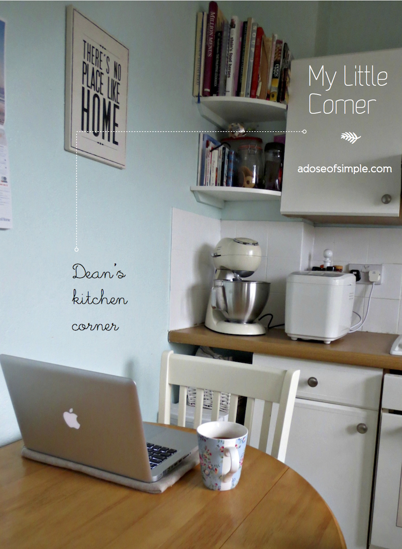My Little Corner: Dean\'s Kitchen   A Dose of Simple