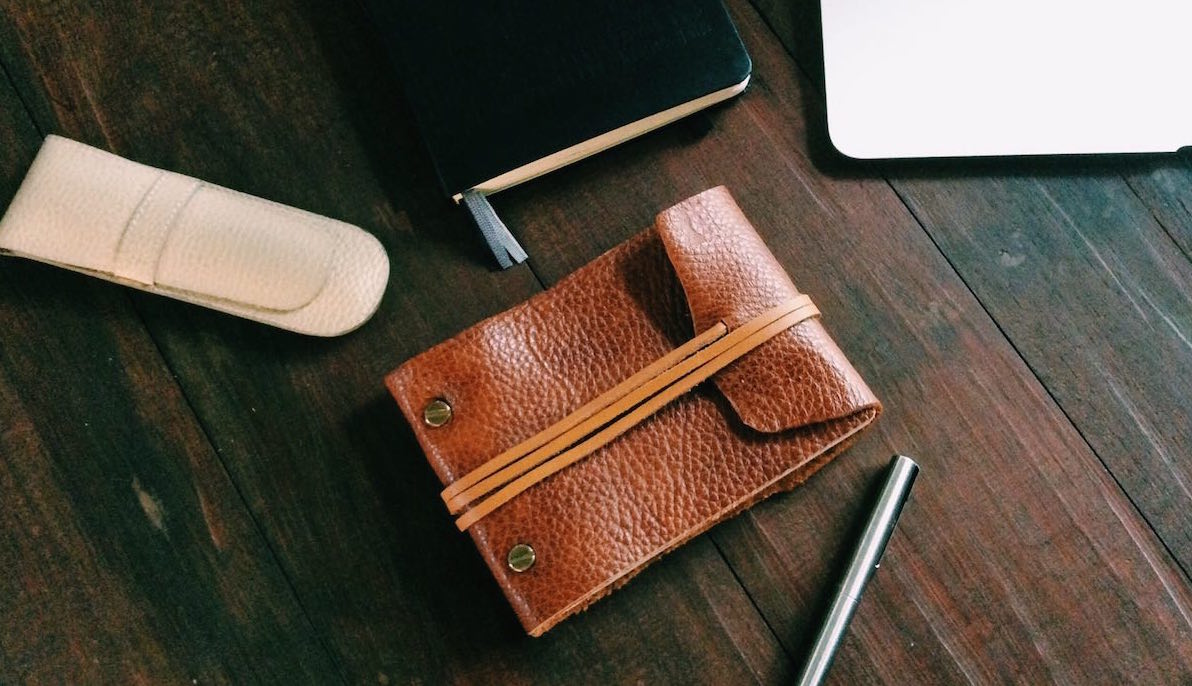 Leather Notebook Project