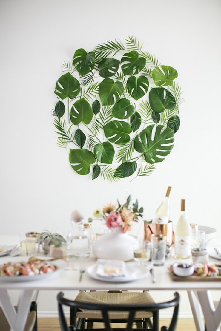 A-Dose-of-Simple-diy-leaf-backdrop-almost-makes-perfect